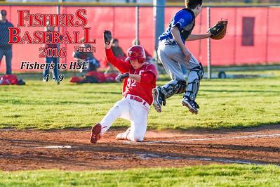 2016 Freshman Baseball - HSE