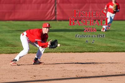 2016 JV Baseball - HSE, game 1
