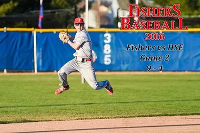 2016 Var Baseball - HSE, game 2