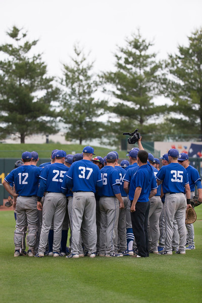 Dallas Baptist vs. Indiana State in game 11 of the MVC baseball tournament on Friday, May 26, 2017 at Hammons Field in Springfield, Mo. Jesse Scheve/Missouri State University