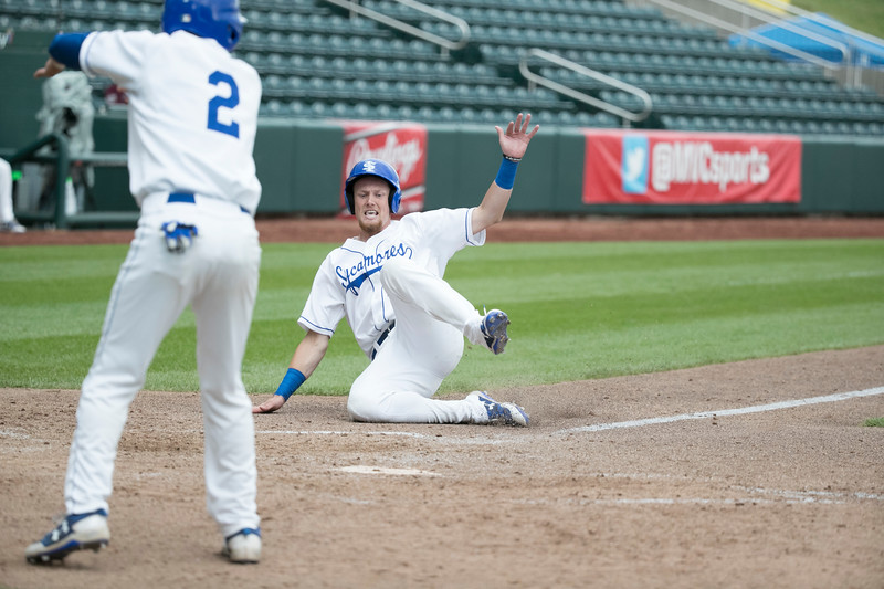 Indiana State vs. Evansville in game 1 of the MVC Baseball tournament on Wednesday, May 24, 2017 at Hammons Field in Springfield, Mo. Kevin White/Missouri State University