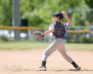 Southline Little League. 07/07/18. Red Sox vs Indians