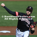 NCAA BASEBALL:  FEB 22 Georgetown at Davidson