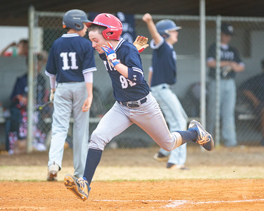 Tift Middle School Baseball vs Valdosta - Shine Rankin Jr./SGSN