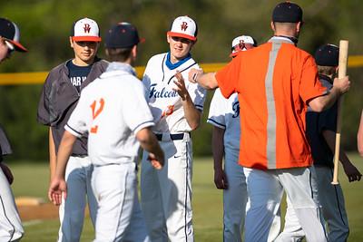AW, Baseball, Loudoun County, Briar Woods, Freedom, JV