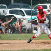 STEPHEN BROOKS   THE GOSHEN NEWS<br /> Westview junior Andrew Brandenberger swings at a pitch during Monday's 2A sectional championship game against Bremen at Westview. Bremen won 7-6 in 10 innings.