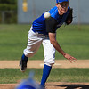 Tanner Jakola delivers a pitch for Leominster during Monday's game against Shepherd Hill.<br /> SENTINEL & ENTERPRISE/GARY FOURNIER