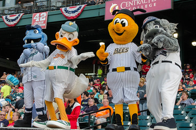 BB Bluefish, Quacker Jack, Sting, and Sparkee