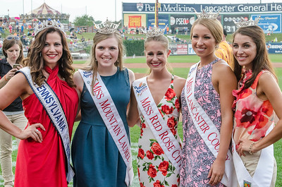 Ms. Pennsylvania, Miss Mountain Laurel, Miss Red Rose City, Miss Lancaster County, and Miss MidState