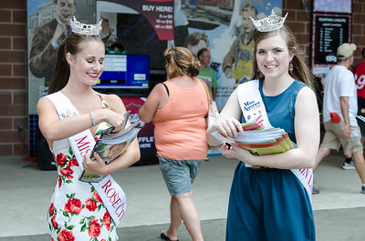 Miss Red Rose City, and Miss Mountain Laurel