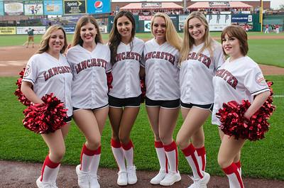 Lancaster Barnstormers All-Star Dance Team