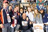 Oct 17, 2012; Detroit, MI, USA; Detroit Tigers fans pose for a photo before game four of the 2012 ALCS against the New York Yankees at Comerica Park.   Mandatory Credit: Tim Fuller-USA TODAY Sports