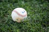 Oct 17, 2012; Detroit, MI, USA; Detailed view of a batting practice baseball before game four of the 2012 ALCS between the Detroit Tigers and the New York Yankees at Comerica Park.   Mandatory Credit: Tim Fuller-USA TODAY Sports