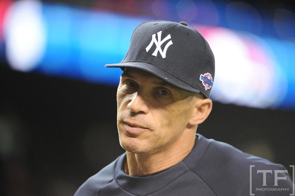Oct 17, 2012; Detroit, MI, USA; New York Yankees manager Joe Girardi before game four of the 2012 ALCS against the Detroit Tigers at Comerica Park.   Mandatory Credit: Tim Fuller-USA TODAY Sports