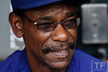Oct 13, 2011; Detroit, MI, USA; Texas Rangers manager Ron Washington (38) prior to game five of the 2011 ALCS against the Detroit Tigers at Comerica Park.  Mandatory Credit: Tim Fuller-US PRESSWIRE