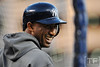 Oct 16, 2012; Detroit, MI, USA; New York Yankees shortstop Eduardo Nunez before game three of the 2012 ALCS against the Detroit Tigers at Comerica Park.  Mandatory Credit: Tim Fuller-USA TODAY Sports