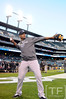Oct 16, 2012; Detroit, MI, USA; New York Yankees second baseman Robinson Cano warms up before game three of the 2012 ALCS against the Detroit Tigers at Comerica Park.  Mandatory Credit: Tim Fuller-USA TODAY Sports