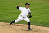 Oct 18, 2012; Detroit, MI, USA; Detroit Tigers relief pitcher Octavio Dotel throws a pitch against the New York Yankees in the seventh inning during game four of the 2012 ALCS at Comerica Park.   Mandatory Credit: Tim Fuller-USA TODAY Sports
