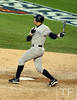 Oct 18, 2012; Detroit, MI, USA; New York Yankees pinch hitter Alex Rodriguez flies out in the 6th inning during game four of the 2012 ALCS against the Detroit Tigers at Comerica Park.   Mandatory Credit: Tim Fuller-USA TODAY Sports