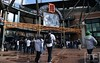 Oct 18, 2012; Detroit, MI, USA; A general view as baseball fans arrive for game four of the 2012 ALCS between the New York Yankees and the Detroit Tigers at Comerica Park.   Mandatory Credit: Tim Fuller-USA TODAY Sports
