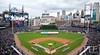 Oct 6, 2012; Detroit, MI, USA; A general view as the National Anthem is sung  before the start  of game one of the 2012 ALDS between the Detroit Tigers and the Oakland Athletics at Comerica Park. Mandatory Credit: Tim Fuller-US PRESSWIRE