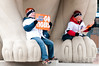 Oct 6, 2012; Detroit, MI, USA; Detroit Tigers fans before game one of the 2012 ALDS against the Oakland Athletics at Comerica Park.  Mandatory Credit: Tim Fuller-US PRESSWIRE