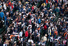 Oct 6, 2012; Detroit, MI, USA; Fans during the first inning of game one of the 2012 ALDS between the Detroit Tigers and the Oakland Athletics at Comerica Park.  Mandatory Credit: Tim Fuller-US PRESSWIRE