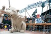 Oct 6, 2012; Detroit, MI, USA; A general view of the entrance to Comerica Park before game one of the 2012 ALDS between the Detroit Tigers and the Oakland Athletics.  Mandatory Credit: Tim Fuller-US PRESSWIRE
