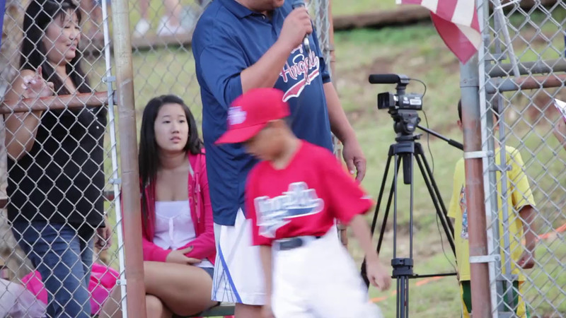 MVI_0110-Angles baseball-Little League Minors-Pearl City-Oahu-Hawaii-January 2012