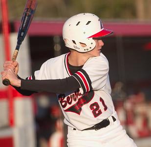 Tanner Griner, right fielder, at bat