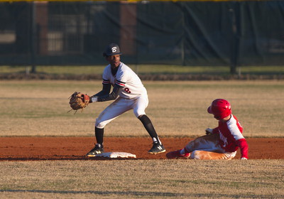 Qrey Lott, with put out at 2nd