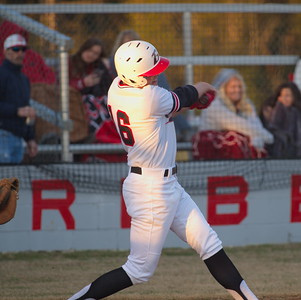 Travis Staley at bat