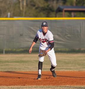 Travis Staley at 3rd base