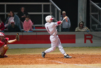 Homerun swing from Griffin Rowe