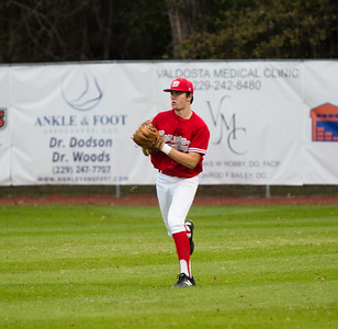 clay Griffin playing right field