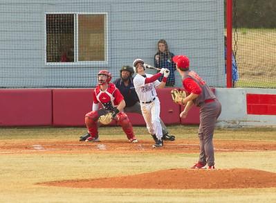Griffin Rowe, #1, centerfielder at bat