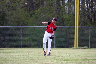 BMS Baseball vs Bremen 04/14/16