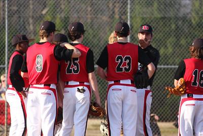 BMS Baseball vs. Mt. Zion 03/08/16