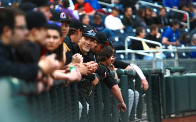 Baseball dugout, team
