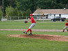 Saranac Lake v Saranac • Mathew on the pitcher's mound