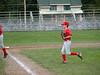 Saranac Lake v Saranac • Mathew joggin in from the pitcher's mound