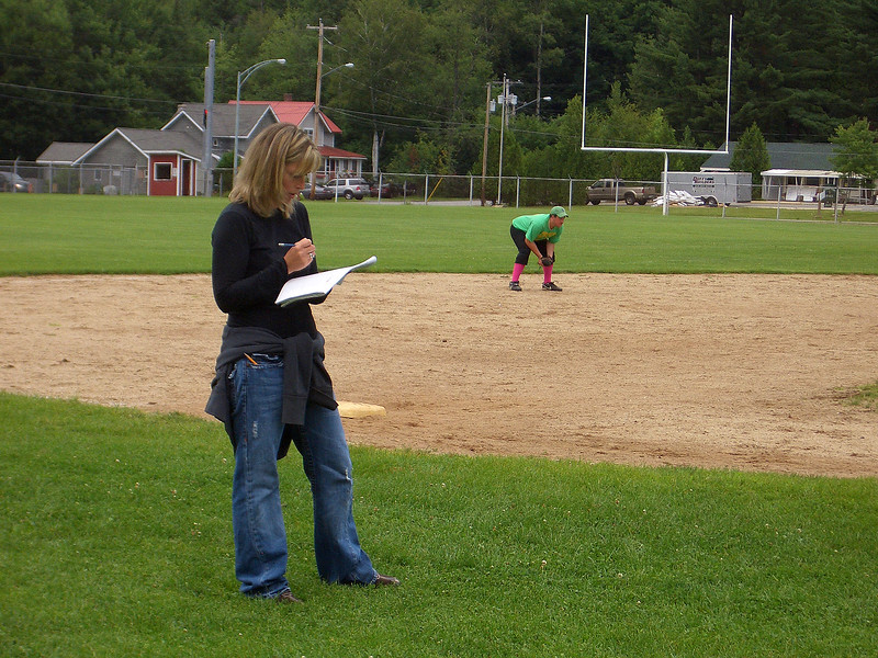 Jamie, Coach for a Day (filling in for Bob)