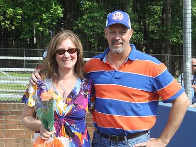 2012 Athens vs Lee County Senior Day