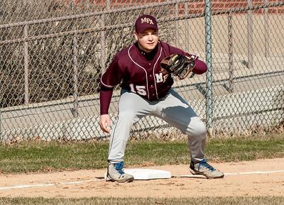 Baseball vs. Luther North 2015