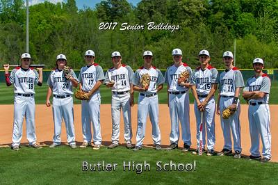 BHS Baseball Seniors