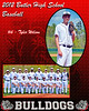 Tyler Wilson 8x10 varsity portrait inidvidual and group