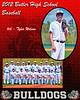 Tyler Wilson 8x10 varsity portrait inidvidual and group