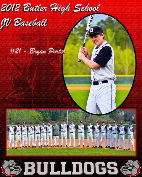 Bryan Porter 8x10 JV portrait inidvidual and group
