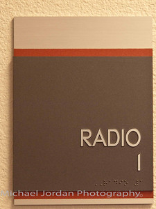 One of the Radio Rooms at the Goodyear Ballpark - Cleveland Indians Spring Training Stadium
