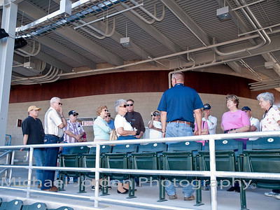 Three Rivers Historical Society tours the Goodyear Ballpark - Cleveland Indians Spring Training Stadium
